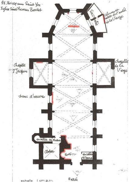 Mobilier liturgique de la campagne d'aménagement de l'abbé Jacques-Antoine Pennetti