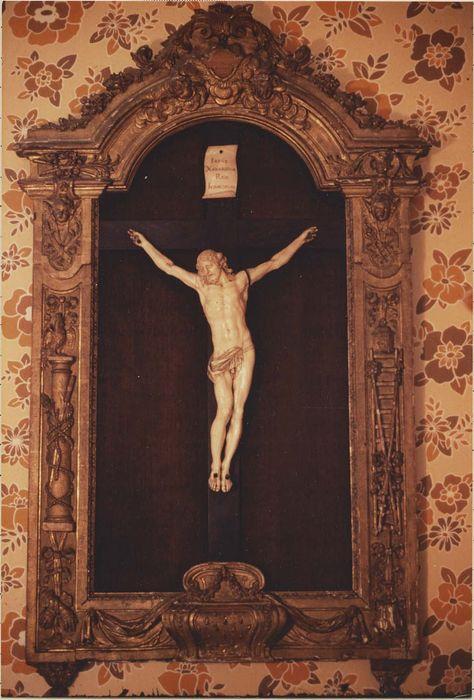 Panneau de bois sculpté : Descente de croix (La)