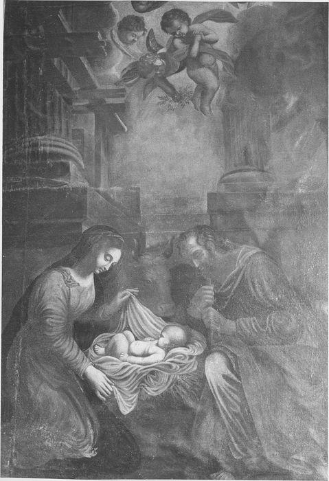 Tableau : la Sainte Famille