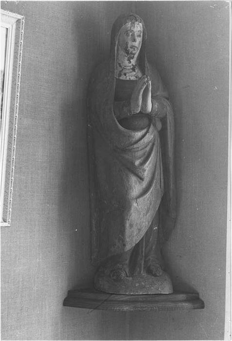 Statues de calvaire (2) : Vierge, Saint Jean