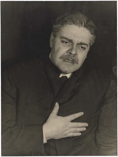 Acteur de Six personnages en quête d'auteur de Pirandello au Piccolo Teatro de Milan