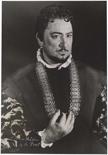 Pierre Brasseur dans La mégère apprivoisée de Shakespeare
