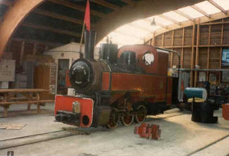Locomotive à vapeur 030 T 06 Decauville n° 1770, à voie de 60
