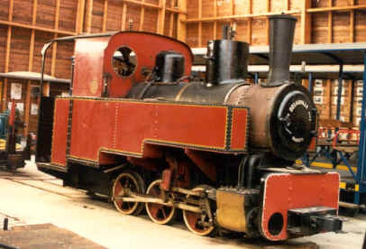 Locomotive à vapeur Orenstein et Koppel 030T n°7429 à écartement de 750mm.