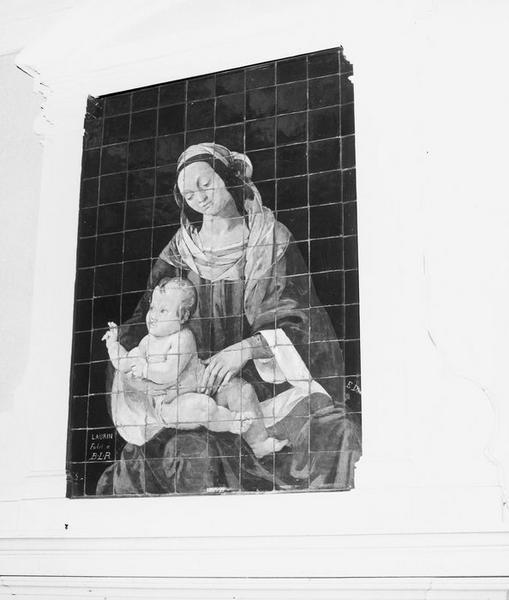 Revêtement mural : Vierge à l'Enfant