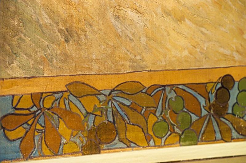 Peinture monumentale (peinture murale) de la salle de l'état civil