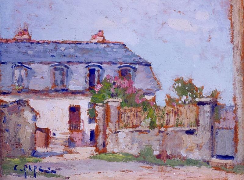 tableau n°22 : Cour Hévin, avers