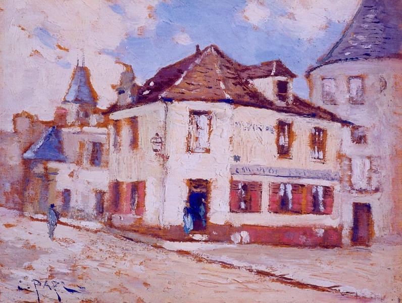 Tableau n°31 : Vieille maison place de la mairie, avers