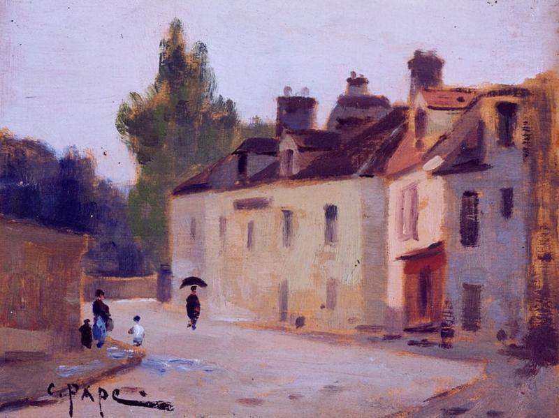Tableau n°35 : Rue Taboise, avers