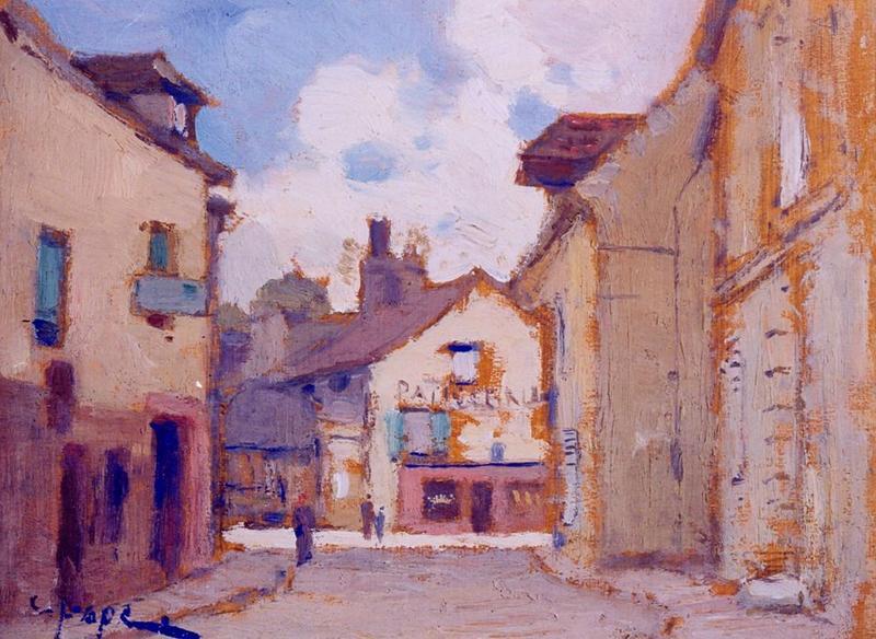 Tableau n°36 : Rue Chef de Ville, avers