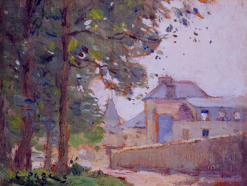 Tableau n°42 : La Brèche place Jules Hunebelle, avers