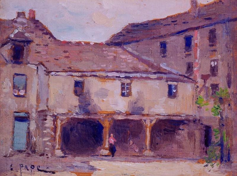 Tableau n°50 : Vieille cour Saint-Pierre, avers