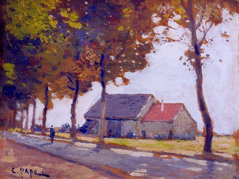 Tableau n°88 : Grange de la Mère Pierre (plaine de Clamart), avers
