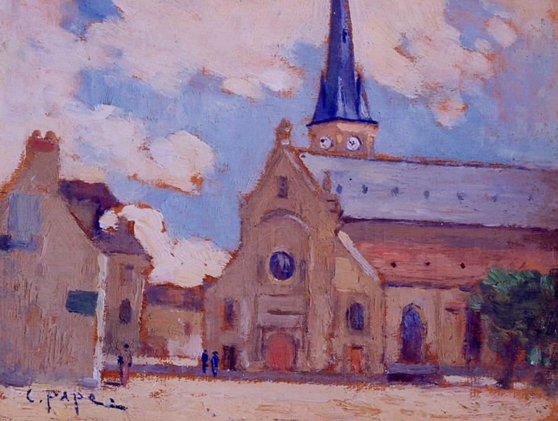 Tableau n°89 : Eglise de Clamart, avers