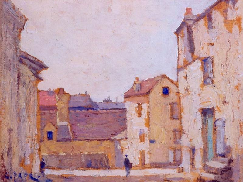 tableau n°93 : Rue de Fontenay, avers