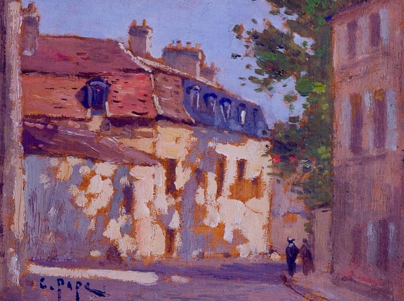 Tableau n°95 : Rue de Trosy, avers
