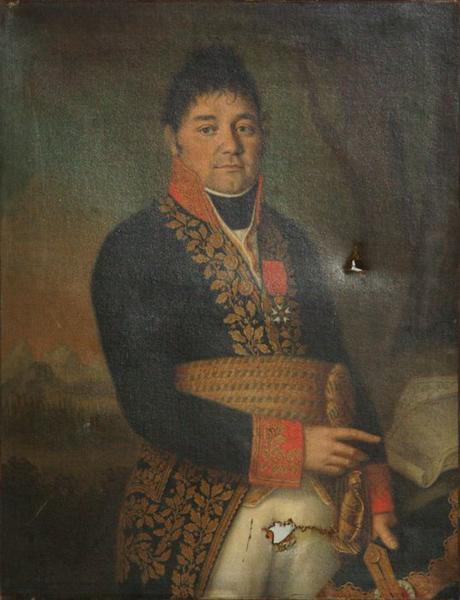 Tableau : Portrait du général François Roguet