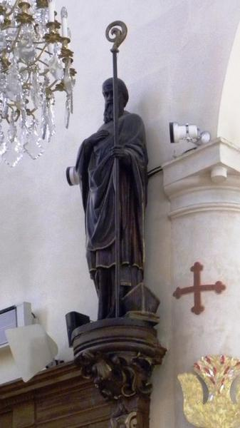 Ensemble de six statues : saint Denis