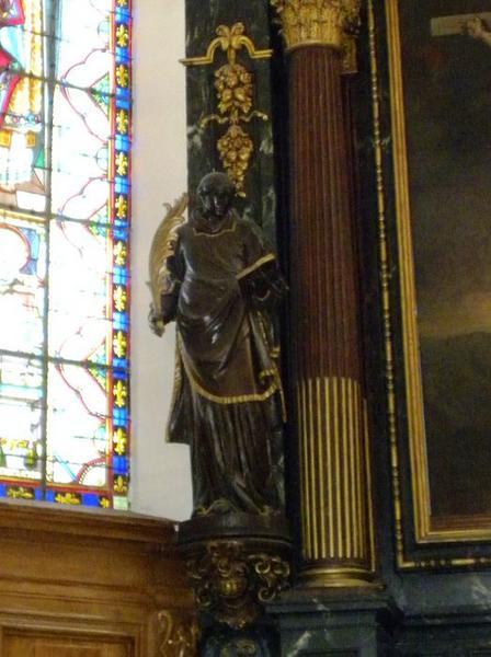 Ensemble de six statues : saint Etienne