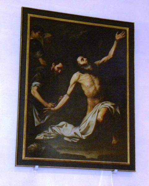 Tableau : Martyre de saint Barthélemy