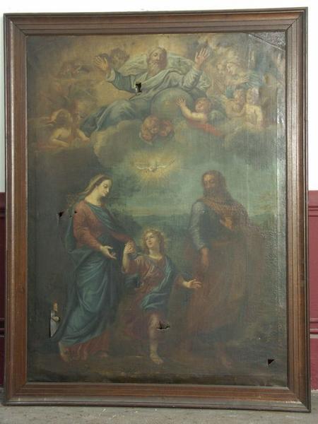 Tableau : Les Deux Trinités ou La Trinité céleste et la Trinité terrestre