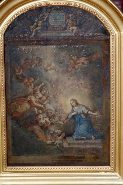 Tableau : L'Annonciation ou la Salutation angélique