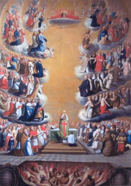 Tableau : Le Sacrifice de la Messe