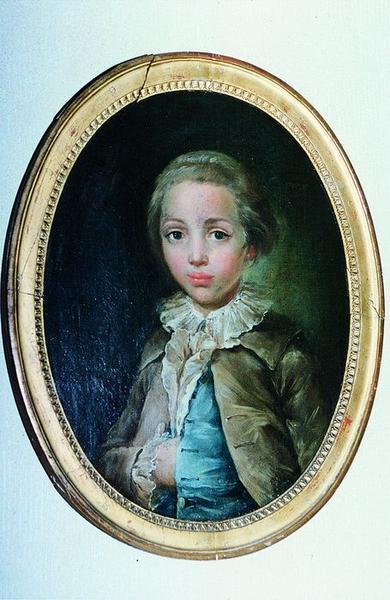 Tableau : Portrait de Monsieur Mollevaut enfant