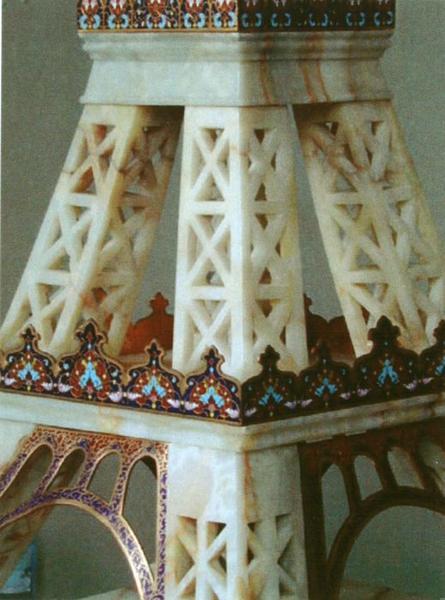 Maquette : Tour Eiffel: détail