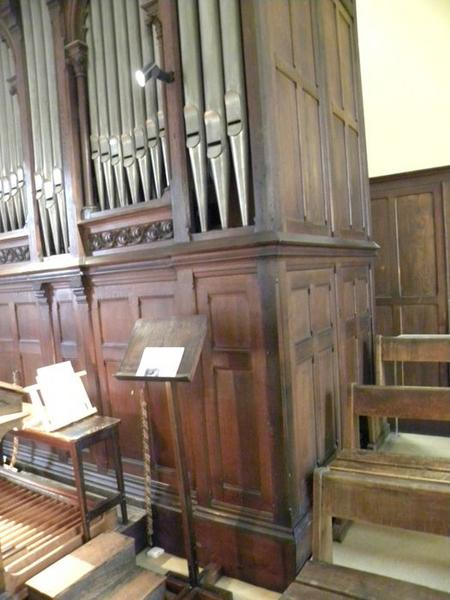 Orgue de tribune : détail