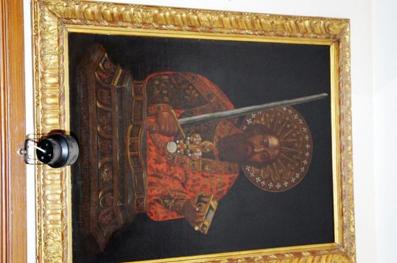 Paire de tableaux : reliquaire de saint Paul