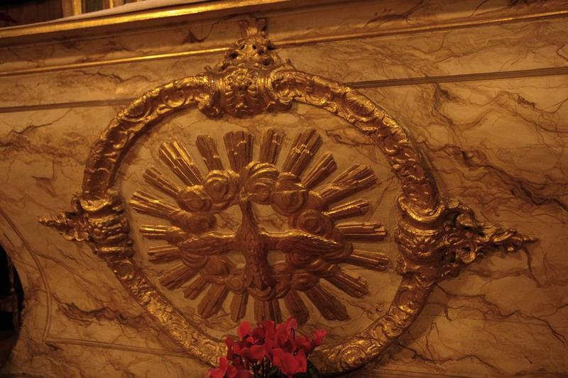 Autel dit de saint Mammès: autel