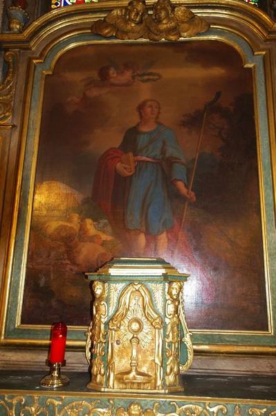 Autel dit de saint Mammès: tabernacle