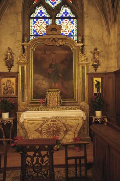 Autel dit de saint Mammès: vue générale