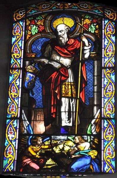Deux verrières : saint Philippe