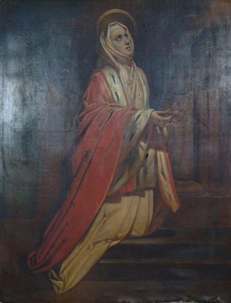 tableau : Sainte Elisabeth reine