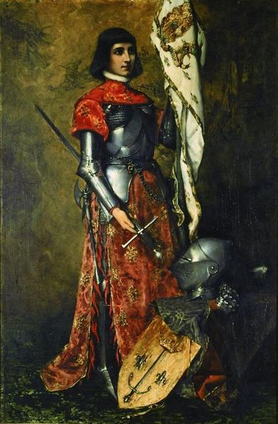 Tableau: sainte Jeanne d'Arc