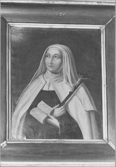 tableau : Sainte Marie de l'Incarnation