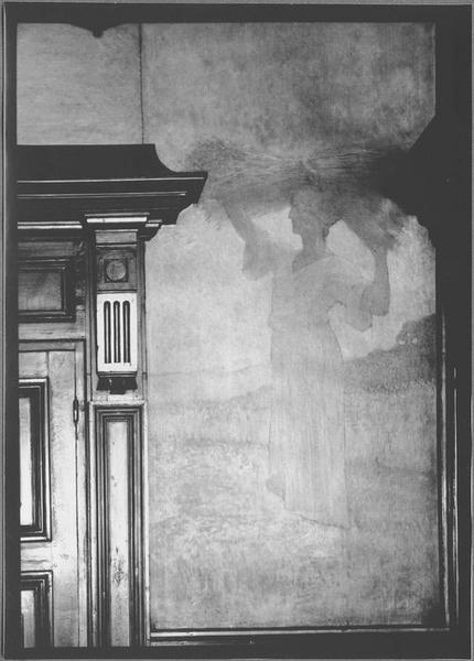 Peinture monumentale : la moisson, l'Eté, vue générale