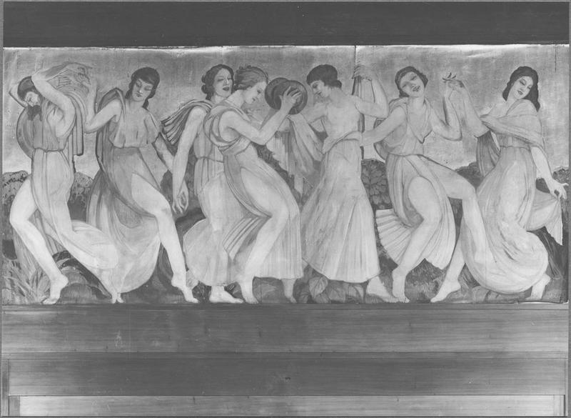 Tableau : La Danse, vue générale