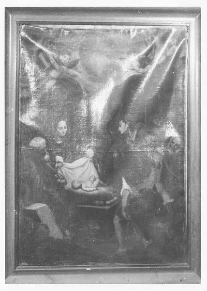 tableau : adoration des bergers (l'), vue générale