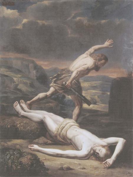 tableau : Le Meurtre d'Abel, vue générale