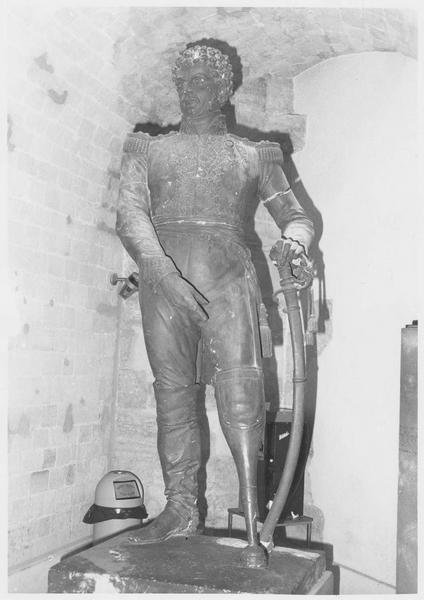 Statue du général baron Daumesnil
