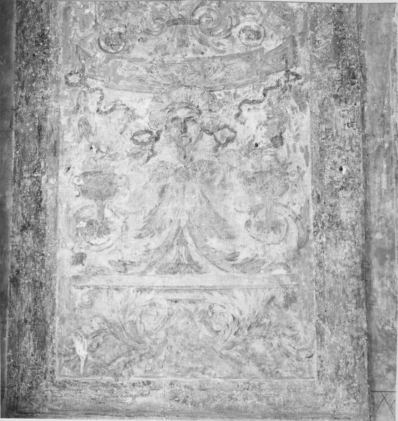 Revêtement intérieur (décor intérieur de la chambre de la Reine)