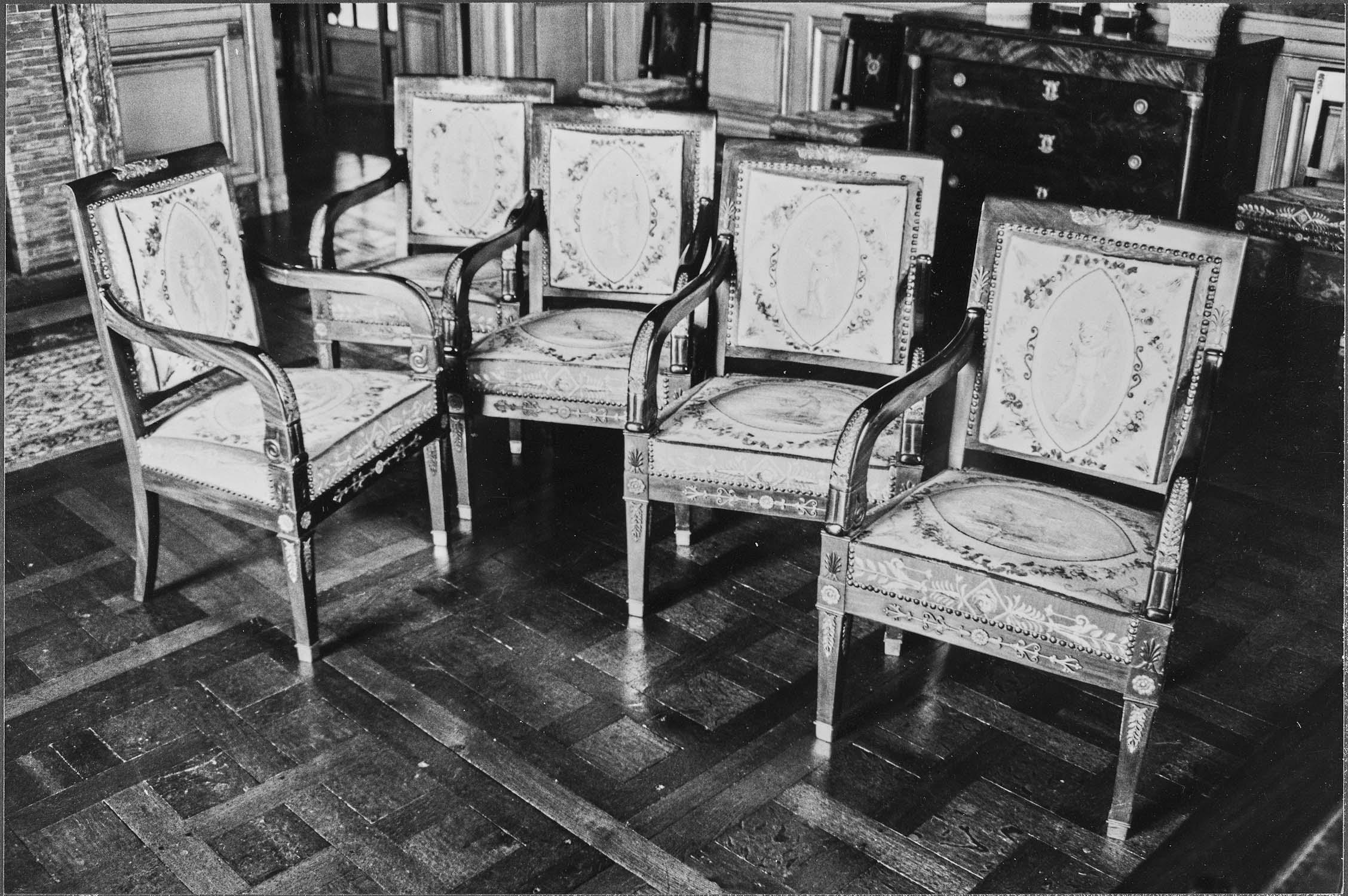 Ensemble de 8 fauteuils