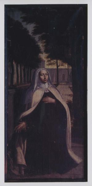 tableau : la bienheureuse soeur Marie de l'Incarnation