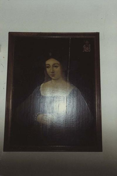 Deux tableaux : portraits d'un homme et d'une femme