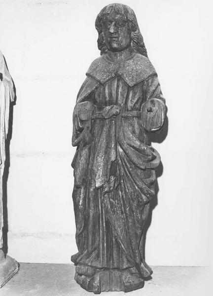 Statue : saint Jean provenant d'une poutre de gloire