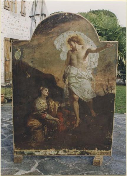 Tableau : Christ apparaissant aux saintes femmes (le), vue générale