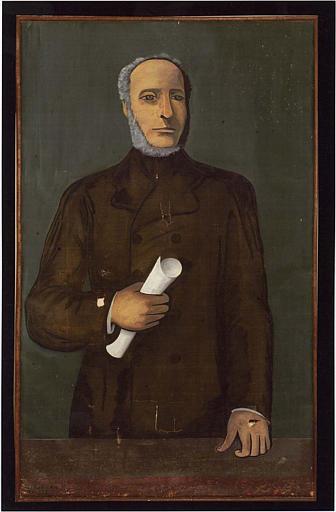 tableau : portrait de Victor Schoelcher